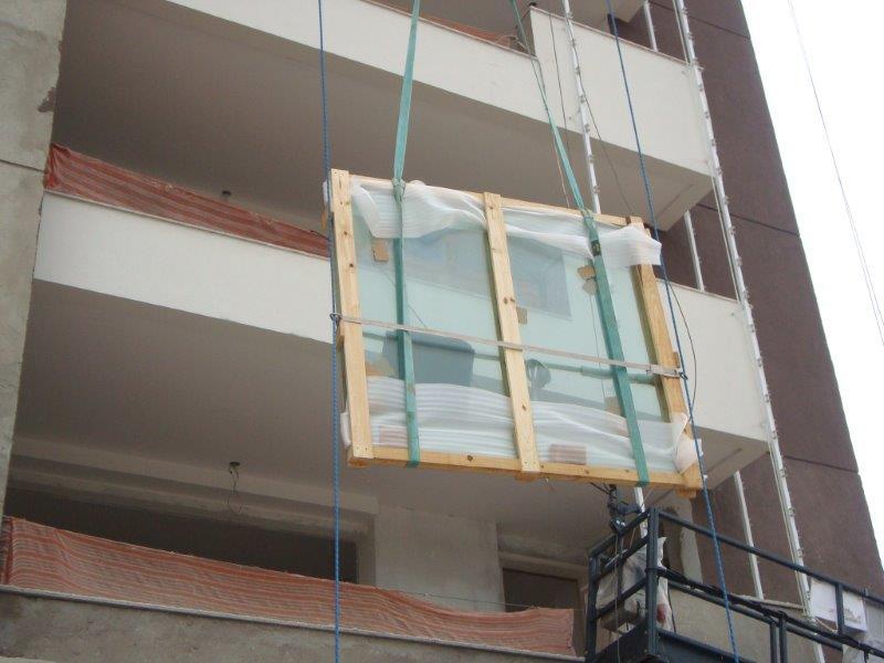 Içamento de vidros